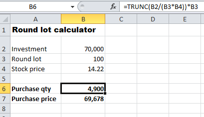 round-lot-calculator-excel