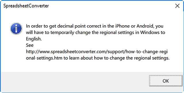 Help: How to change the regional settings in Windows